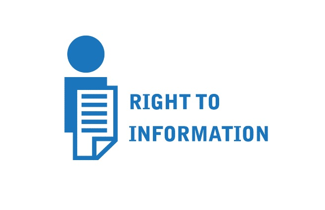 Banner of Right to Information Act & Open Government Data