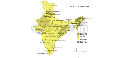 Banner of Status of Village Electrification in India as on 28.02.2015