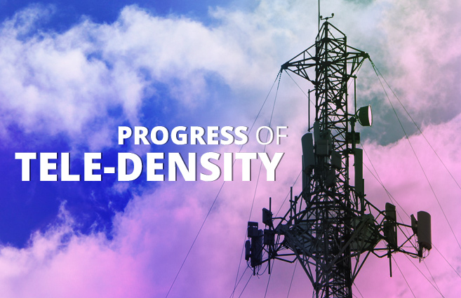 Banner of Progress of Tele-density