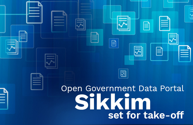 Banner of Open Government Data Portal Sikkim set for take-off