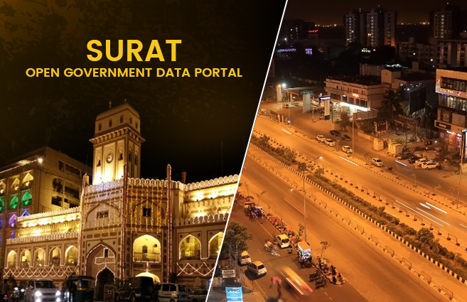 Banner of Surat Open Government Data Portal