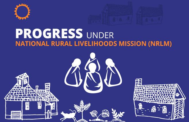 Banner of Progress under National Rural Livelihoods Mission (NRLM)