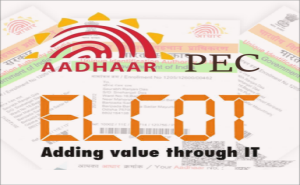 "Banner of ""PEC : Aadhaar"" – A Mobile App using TNOGD Dataset has been released on Google Play Store"