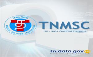 "Banner of Mobile App on ""TNMSC – Medical Scan Centres in Tamil Nadu""  released on Google Play Store"