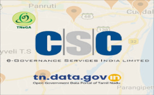 "Banner of Mobile App on ""Common Service Centers(CSCs) in Tamil Nadu"" released on Google Play Store"