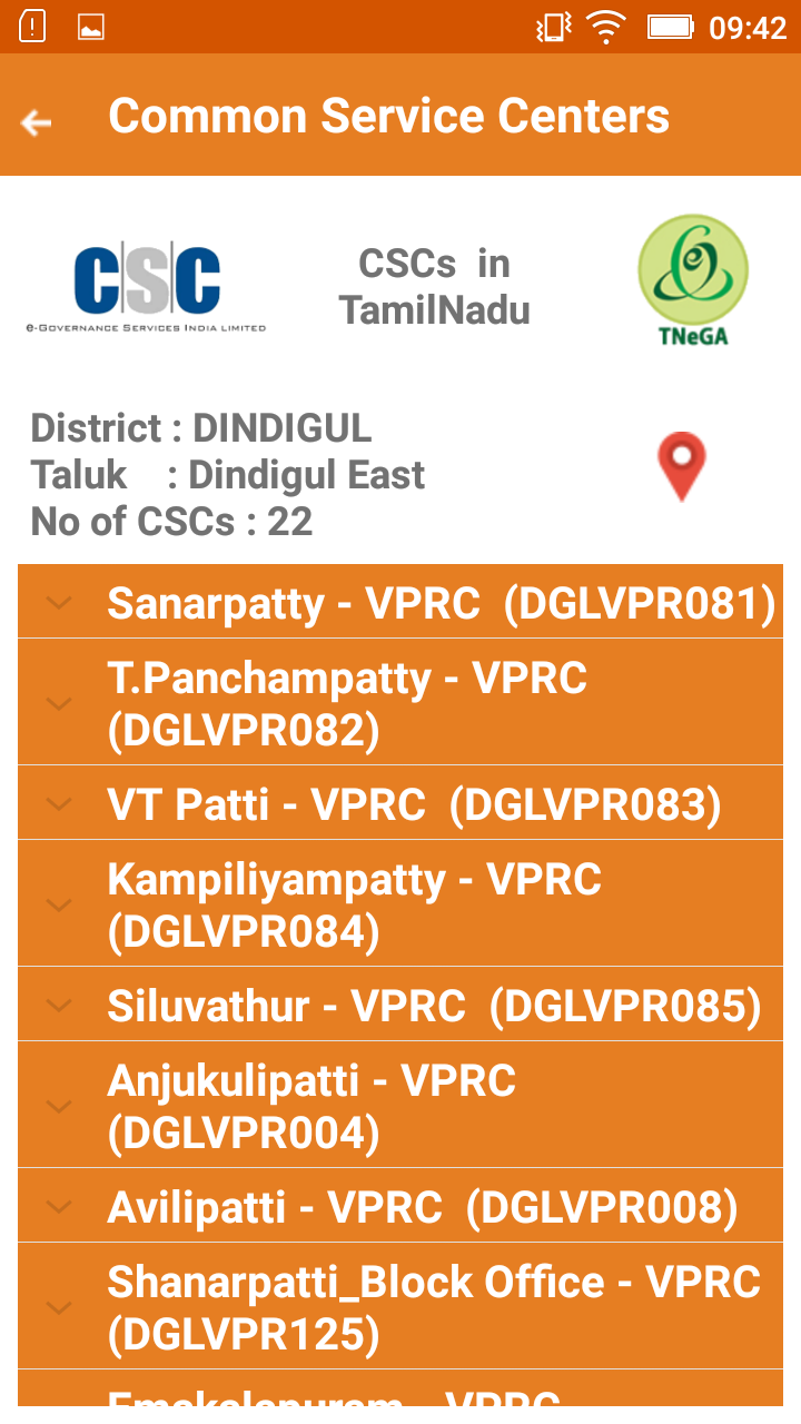 """Mobile App on """"Common Service Centers(CSCs) in Tamil Nadu"""" released"""