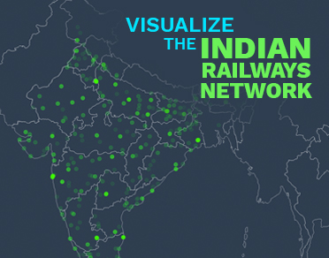 Banner of Visualize the Indian Railways Network