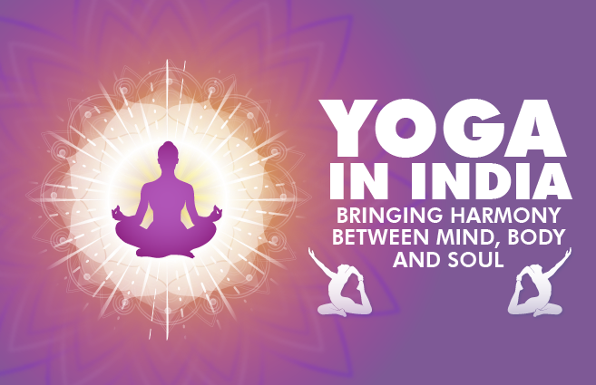 Banner of Yoga in India