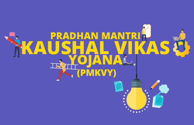 Banner of Overview on Pradhan Mantri Kaushal Vikas Yojana (PMKVY)