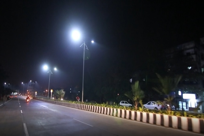 Banner of Nagpur: Optimising street light energy consumption using data
