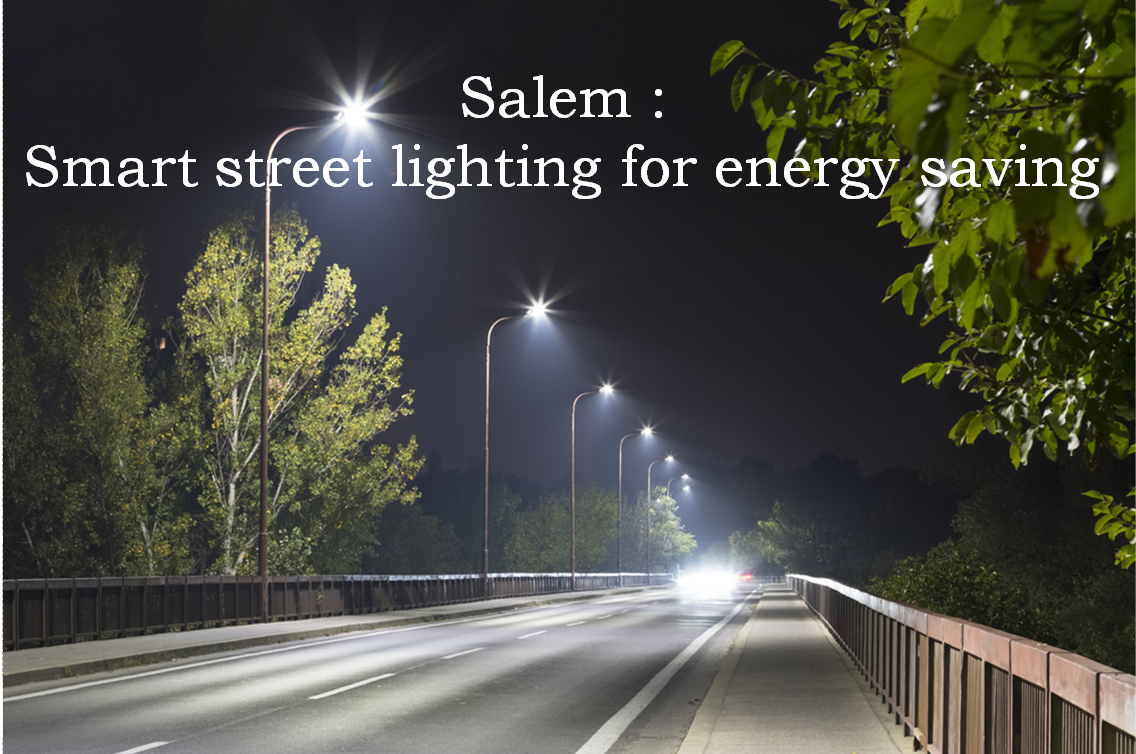 Banner of Salem: Smart street lighting for energy saving