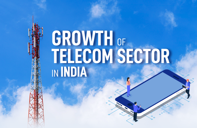 Banner of Growth of Telecom Sector in India
