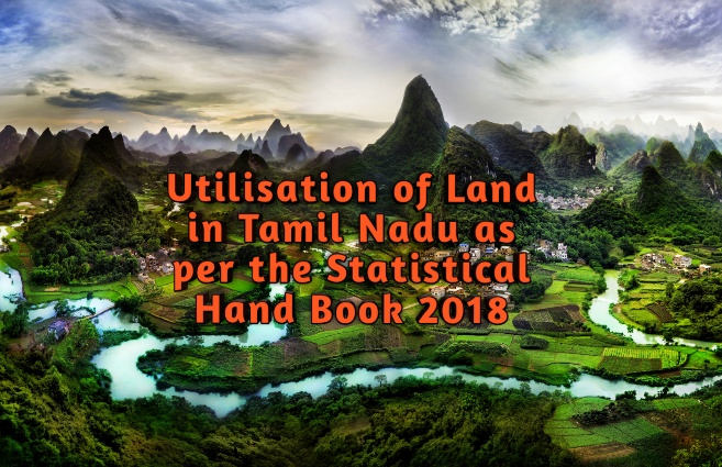 Banner of Utilisation of Land in Tamil Nadu 2018