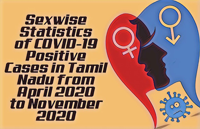 Banner of Sexwise COVID-19 Positive Cases in Tamil Nadu from April 2020 to November 2020