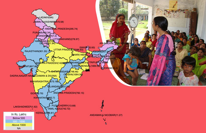 Banner of State/UT-wise Approval for Uniform under APIP for Implementation of Anganwadi Services in 2019-20
