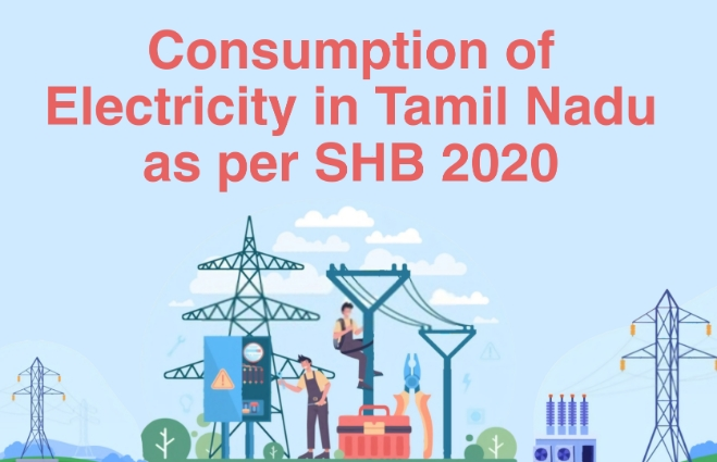 Banner of Consumption of Electricity in Tamil Nadu 2020