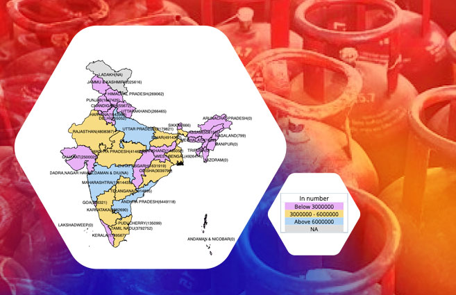 Banner of State/UT-wise Active LPG Domestic Consumers of HPCL As on 31st Mar 2020
