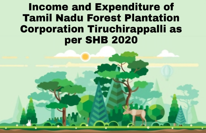 Banner of Income and Expenditure of Tamil Nadu Forest Plantation Corporation, Tiruchirappalli (Revised Estimate) : SHB 2020